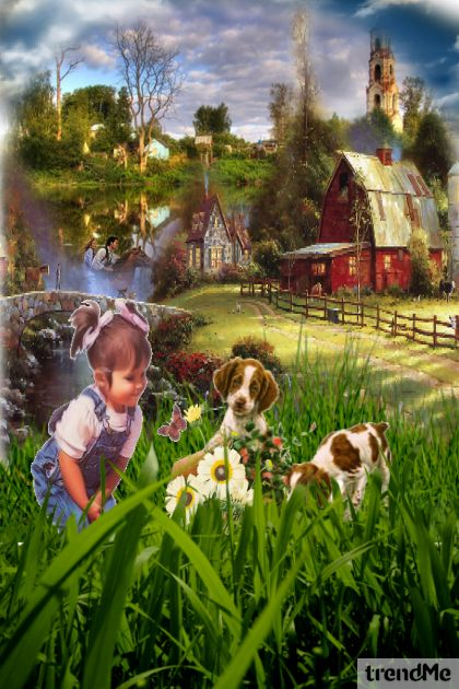 Happy country life