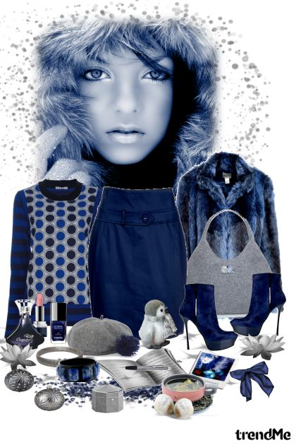 Winter Blues from collection Autumn/Winter 2012 by heartafloat
