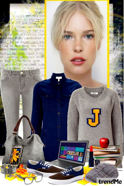 Bayley's College Life from collection Autumn/Winter 2012 by heartafloat