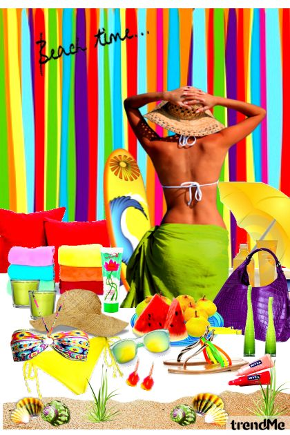 It's Beach Time コレクション: Spring/Summer 2012 by heartafloat