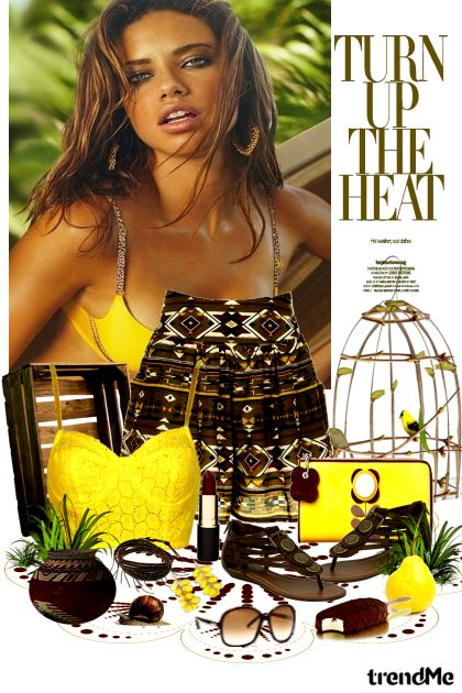 Turn Up The Heat dalla collezione Spring/Summer 2012 di heartafloat