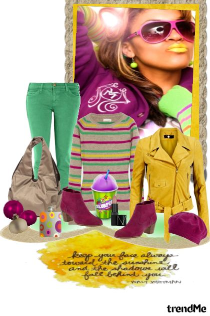 Saturday Color aus der Kollektion Autumn/Winter 2012 von heartafloat