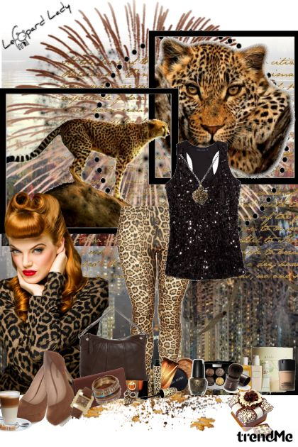leopard lady