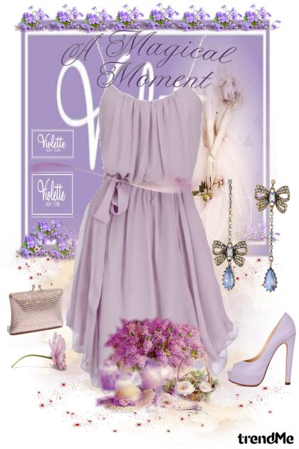 A Magical Moment Violette aus der Kollektion Collection Vintage by performance von  Performance  Maria de Fatima