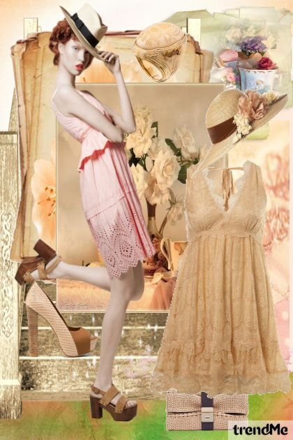 Romantic ... vintage... from collection Collection Vintage by performance by  Performance  Maria de Fatima