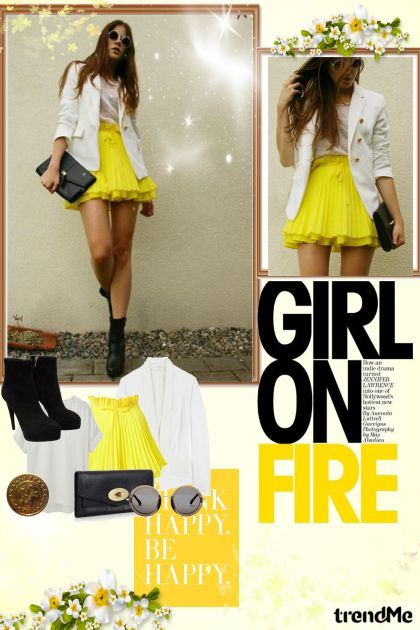 Inspiration .. yellow .. fashion clothes!