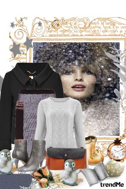 Zima,ide,ide zima..... from collection Moje fantazije by madlen2931