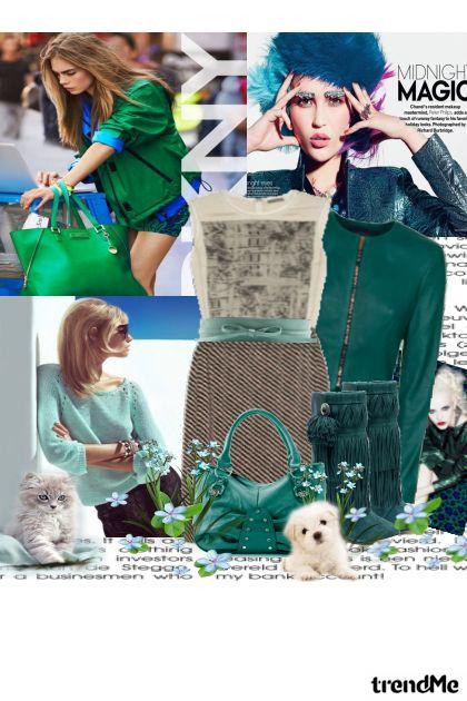Svi vole zeleno from collection Moj inspirativni kolor by madlen2931