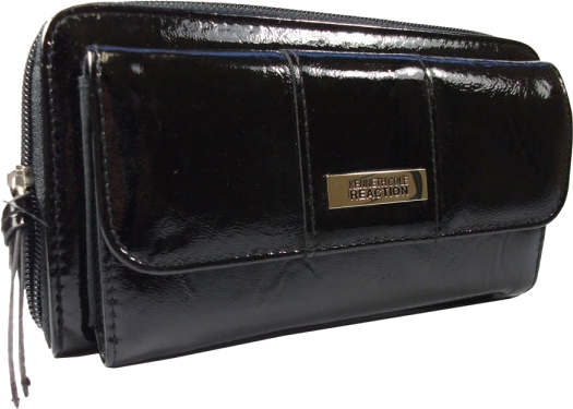 This trendy clutch wristlet wallet by kenneth cole reaction is perfect for day or evening wear