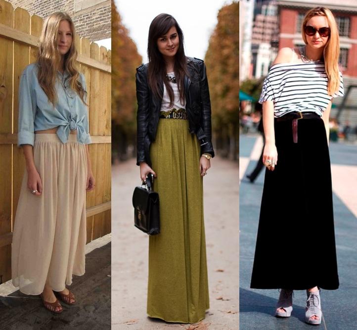 Длинная юбка 2015