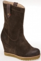 Clothes/footwear details Wrangler - Wiggy Boot Fur (Dark-Brown) (Boots)