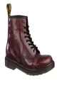 Clothes/footwear details Dr-Martens - Worn 1460 Boot  (Cherry) (Boots)