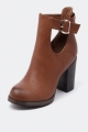 Clothes/footwear details Therapy Hastings Tan - Women Boots (Boots)