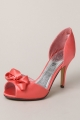 Clothes/footwear details Top End Cabelia Coral Satin 224 - Women Sandals (Sandals)