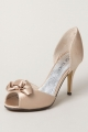 Clothes/footwear details Top End Cabelia Champagne Satin 185 - Women Sandals (Sandals)