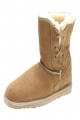 Clothes/footwear details Ugg Australia Tidal 3/4 Lace Up Chestnut  - Women Boots (Boots)