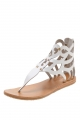 Clothes/footwear details Urge Ebony White - Women Sandals (Sandals)