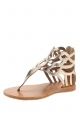Clothes/footwear details Urge Ebony Gold - Women Sandals (Sandals)