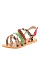 Clothes/footwear details Urge Debra Green Multi - Women Sandals (Sandals)