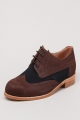 Clothes/footwear details Vanishing Elephant Two-Tone Brogue Brown/Blue - Men Shoes (Shoes)