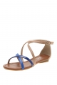 Clothes/footwear details Verali Diva Blue Combo - Women Sandals (Sandals)
