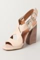 Clothes/footwear details Vicenza Lauren Cream - Women Sandals (Sandals)