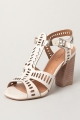 Clothes/footwear details Vicenza Liz Off White - Women Sandals (Sandals)
