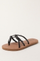 Clothes/footwear details Volcom New School Creedler W0811325 Black - Women Sandals (Sandals)