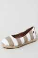 Clothes/footwear details Walnut Melbourne Zoe Rope Sole White/taupe - Women Shoes (Shoes)