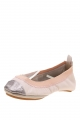 Clothes/footwear details Yosi Samra Leather Splice Pink/pewter - Women Shoes (Shoes)
