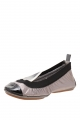 Clothes/footwear details Yosi Samra Metallic Splice Pewter/black - Women Shoes (Shoes)