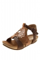 Clothes/footwear details Zensu Davina Tan Multi - Women Sandals (Sandals)