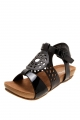 Clothes/footwear details Zensu Davina Black - Women Sandals (Sandals)