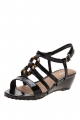 Clothes/footwear details Zensu Arabella Black Patent - Women Sandals (Sandals)