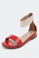 Clothes/footwear details Top End Sense Tangerine/Beige - Women Sandals (Sandals)