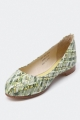Clothes/footwear details Florsheim Aurora Green - Women Shoes (Flats)