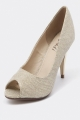 Clothes/footwear details Verali Jacques Gold - Women Shoes (Classic shoes & Pumps)
