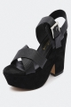 Clothes/footwear details Diavolina Rave Black - Women Shoes (Platforms)