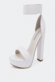 Clothes/footwear details Windsor Smith Malibu White - Women Sandals (Platforms)