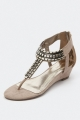 Clothes/footwear details Therapy Baltra Beige - Women Sandals (Classic shoes & Pumps)