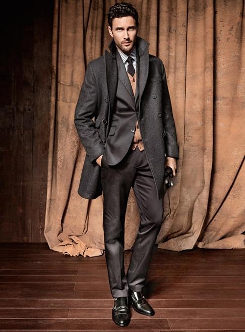 По истине мужская коллекция от Mango: стильные тренчи, костюмы, модные аксессуары и благородная