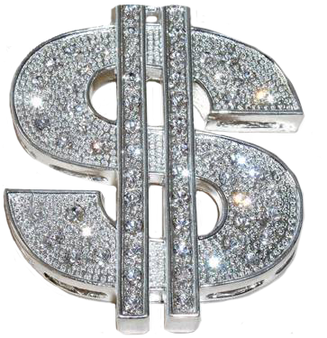Bling Dollar Sign Png Wwwpixsharkcom Images