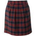 selectsquare - チェックコクーンスカート_ - Skirts - ¥4,600  ~ $46.80