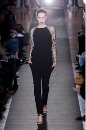 Anthony Vaccarello Fall 2013 - Catwalk