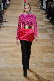 Balmain Fall 2013 - Catwalk