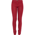 LadyDelish Traperice -  Farmerice Jeans Red