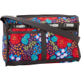 Amazon.com - Lesportsac Women's Deluxe Shoulder Satchel 7519P Shoulder Bag Rose Garden - Bag - $68.00