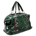 MS Trgovina z modnimi dodatki - Modna Torbica  - Zelena Lak - Bag - 284,00kn  ~ $49.87