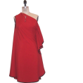PetroZillia - Petro Zillia One Shoulder Red - Dresses - 198,00kn  ~ $34.77
