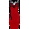 My Lulu Closet Dresses -  Red Lace Sleeveless Bandage Dresses